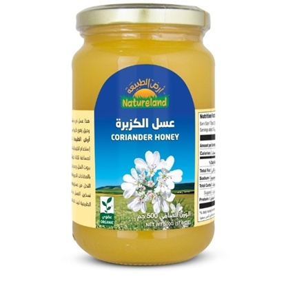 Picture of Corriander Honey, 500g, organic