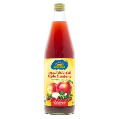 الصورة: عصير التفاح بالكرانبيري, 750مل, عضوى