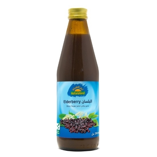 Picture of Elderberry Juice, 330ml, organic