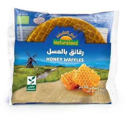 الصورة:  الرقائق بالعسل أرض الطبيعة, 175جم, عضوى