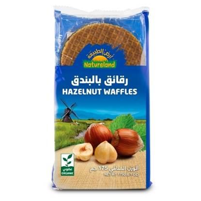 Picture of Hazelnut Waffles, 175ml, organic