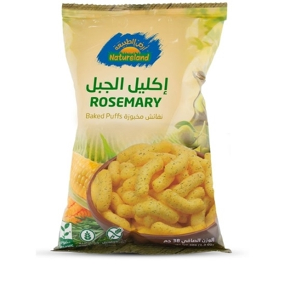 Picture of Baked Puffs Rosemary, 38g, organic