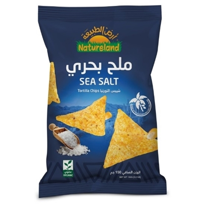 Picture of Tortilla Chips  Sea Salt, 150g, organic