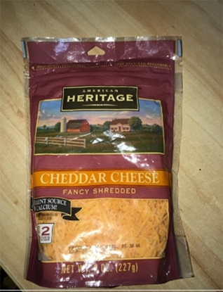 Picture of Heritage Chedar Cheese Fancy Shredded ( 227 GM * 12 Piece  )