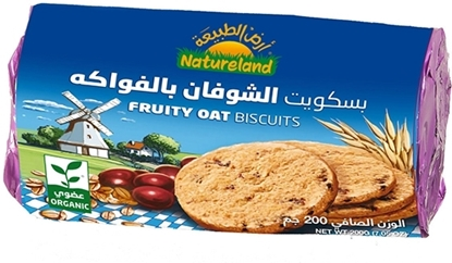 Picture of Fruity Oat Biscuits, 200g, organic