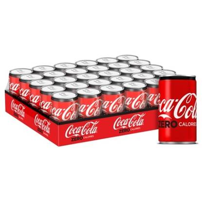 Picture of Coca-Cola Zero Calories Can 150ml 30Pack