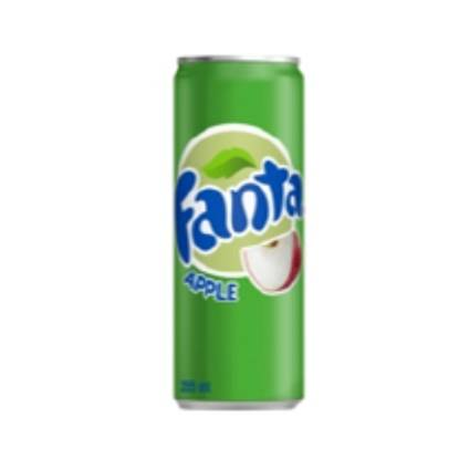Picture of Fanta Green Apple Can 250ml 30Pack