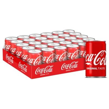 Picture of Coca-Cola Can 150ml 30Pack