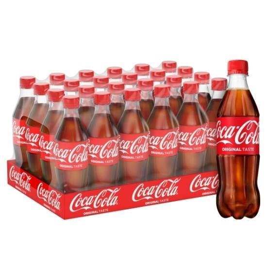 صورة عبوة 500 مل شد 24 كوكاكولا