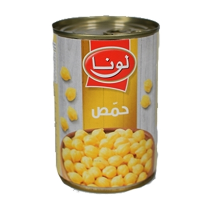 Picture of Luna Chick Peas In Glass ( 24 Can * 400 GM )
