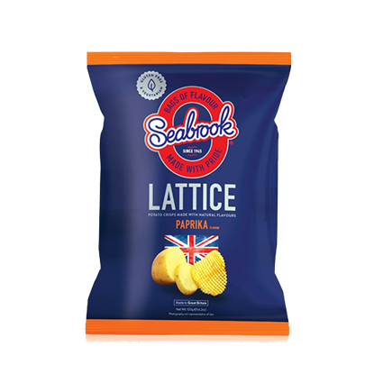 Picture of Seabrook Lattice Crisps Paprika (120 gm)
