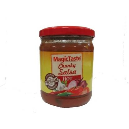 Picture of Magic Taste Chunky Salsa Hot 425 GM