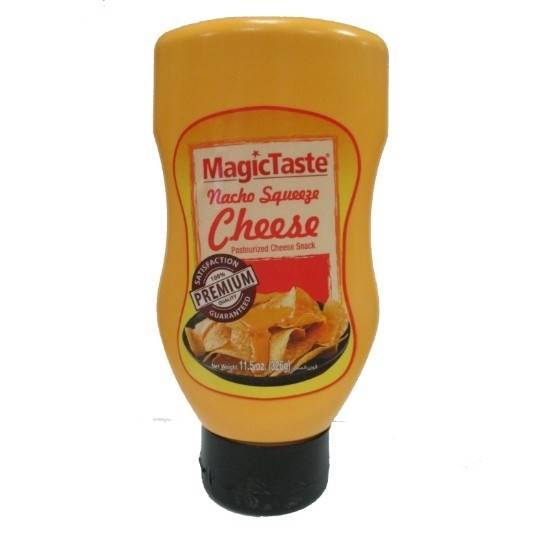 Picture of Magic Taste Nacho Squeeze Cheese 354 GM