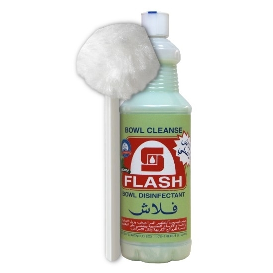 صورة مطهر المراحيض الأصلي نعناع مع فرشاه- فلاش