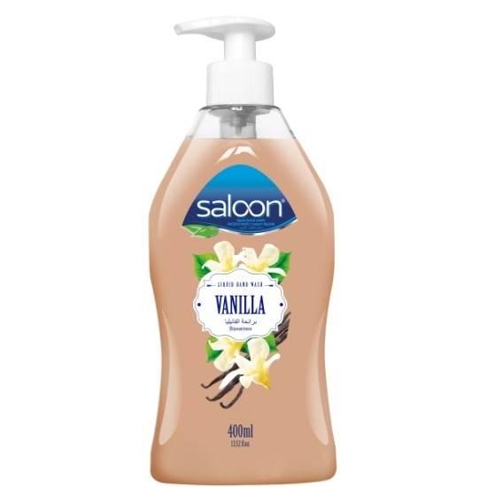 صورة  سائل تنظيف اليدين برائحة الفانيليا مع مضخه - صالون