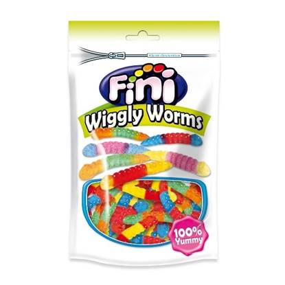 Picture of FINI Doypack - Wiggly Worms CANDY 180 GM