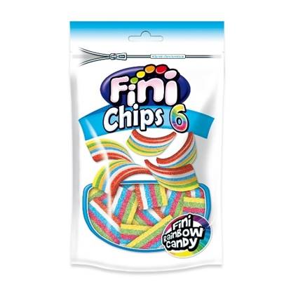 Picture of FINI CHIPS 6 RAINBOW CANDY Doypack - 180 GM