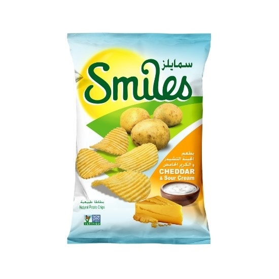Picture of SMILES CHEDDAR&S.CREAM 170GM