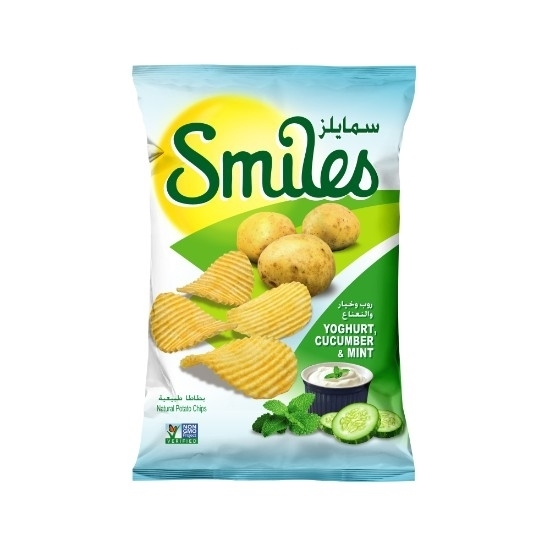 Picture of SMILES YOGHURT. CUCUBER & MINT 170 GM