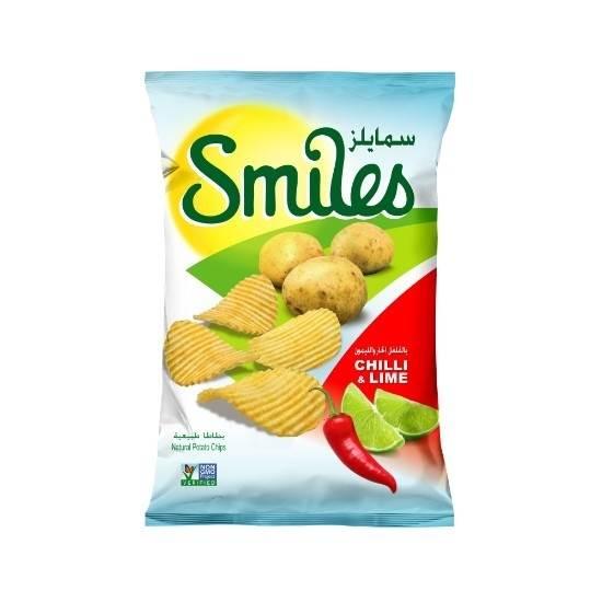 صورة سمايلز بطعم الفلفل الحار والليمون 170 جم