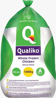 Picture of Qualiko WholeFrozen Chicken Garde- A - (10 Pieces * 1000 GM )