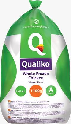 Picture of Qualiko WholeFrozen Chicken Garde- A - (10 Pieces * 1100 GM )