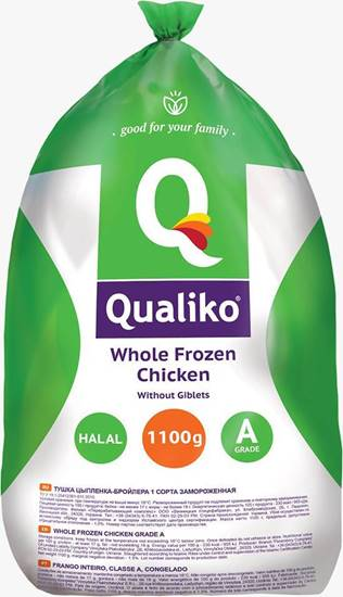 صورة كوالكيو دجاج كامل مجمد ( 1100 كجم * 10 حبة )