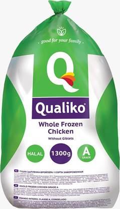 الصورة: كوالكيو دجاج كامل مجمد ( 1300 كجم * 10 حبة )