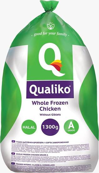 صورة كوالكيو دجاج كامل مجمد ( 1300 كجم * 10 حبة )