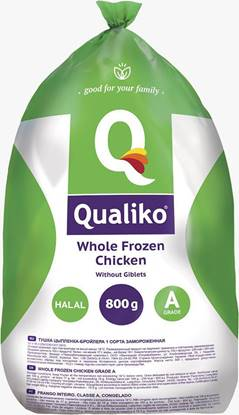 Picture of Qualiko WholeFrozen Chicken Garde- A - (14 Pieces * 800 GM )