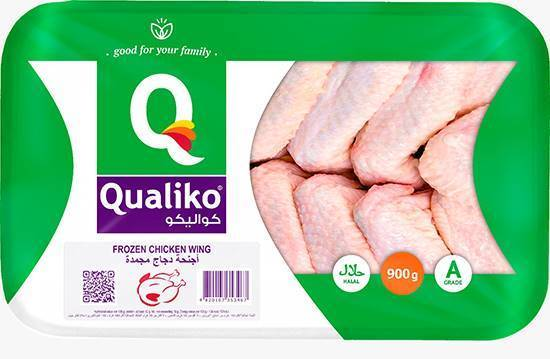 Picture of Qualiko WholeFrozen Chicken Wings (12 Pieces * 900 GM )