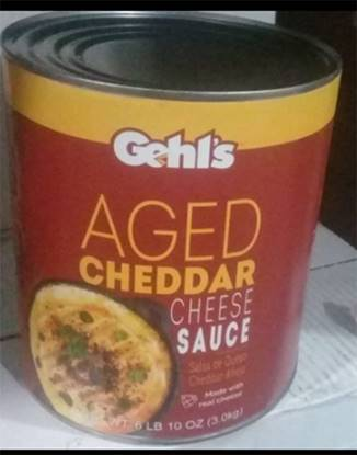 Picture of Gelth Aged Cheddar Cheese Sauce 3kg