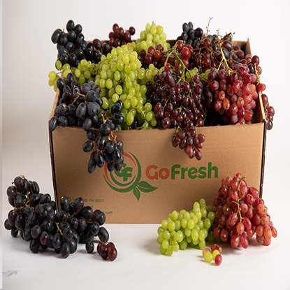 Picture of Mix Grapes  Box ( 1.5 Kg )