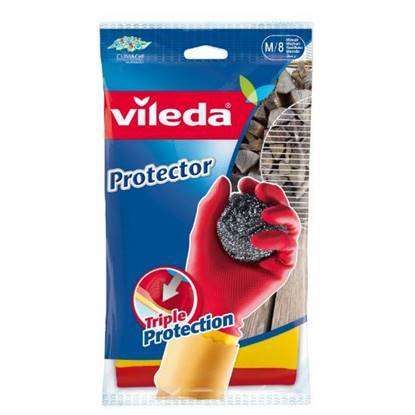 Picture of Vileda Protecor Durable Gloves Medium Size