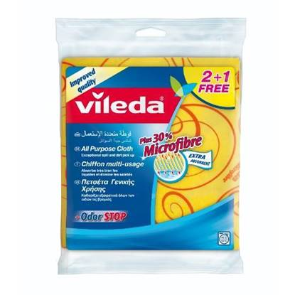 Picture of Vileda  All Purpose Wiping Cloth 2+1 FREE