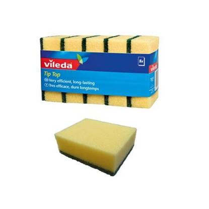 Picture of Vileda Tip Top Med Foam Scourer 5Pcs