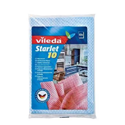 Picture of Vileda Starlet All Purpose Wiping Cloth 10Pcs