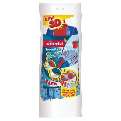 Picture of Vileda 3 Action Supermocio Floor Mop Refill