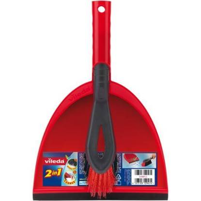 Picture of Vileda 2in1 Dustpan Set
