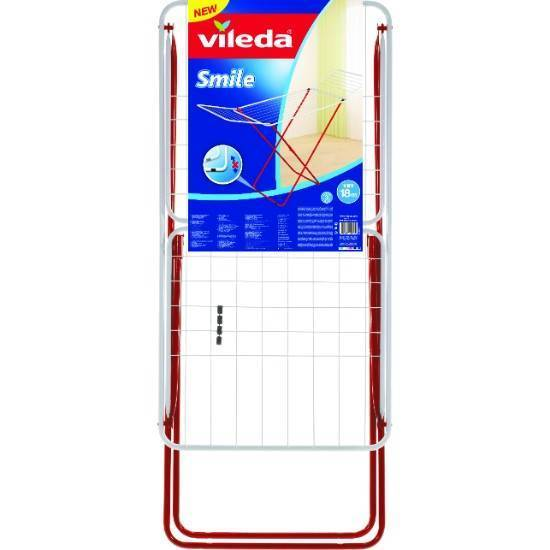 Picture of Vileda Smile Steel X-Leg Indoor Dryer 18m