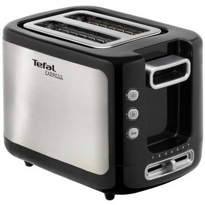 Picture of TEFAL TOASTER NEW EXPRESS 2 SLOT SS