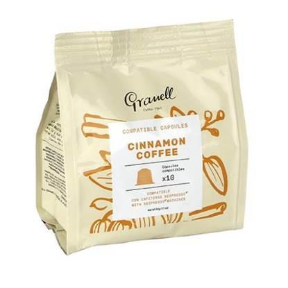 Picture of Granell Cinnamon espresso capsules 10Capsule