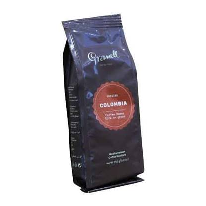Picture of Granell Colombia 100% natural pure origin coffee beans 250GM