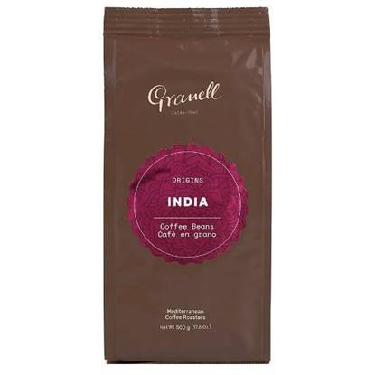 Picture of Granell India 100% natural pure origin coffee beans 500GM