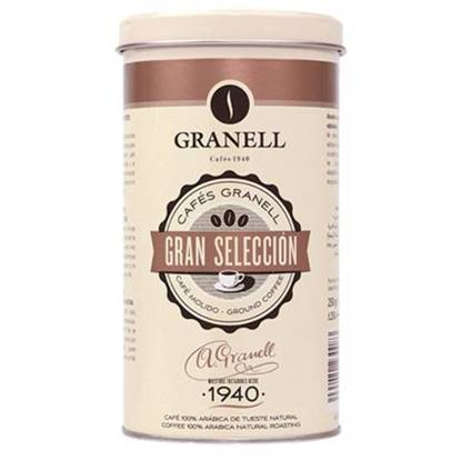 Picture of Granell Tin gran seleccion 1940 ground coffee premium 250GM