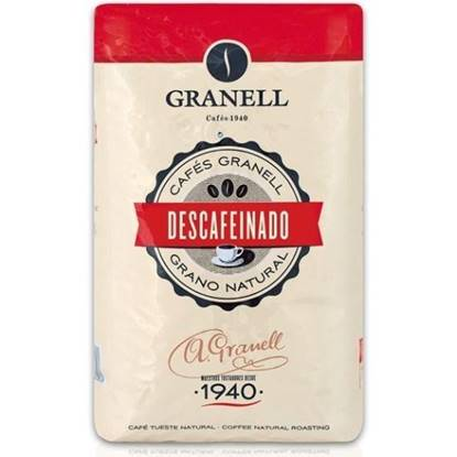 Picture of Granell Decaffenaited Coffee Beans 1KG