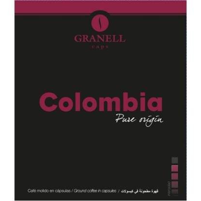 Picture of Granell Origin Colombia coffee capsules - For GCM 12Capsule