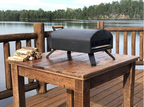 Picture of Napoli Wood Fired & Gas Outdoor Pizza Oven