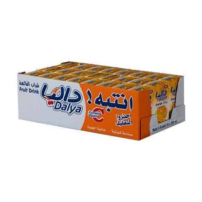 Picture of ABC Dalya Orange Drink 250 ML × 24 PC