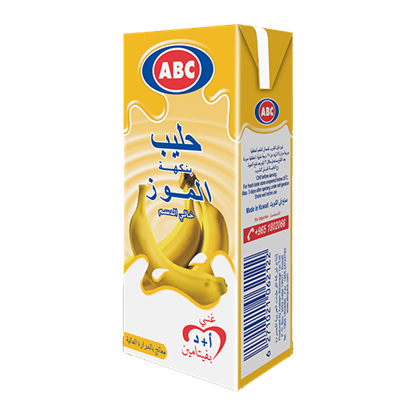 Picture of ABC Flavored Banana Milk 185 ML × 24 PC